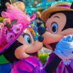 Romantischer Tanz von Minnie und Mickey Goofy's Garden Party