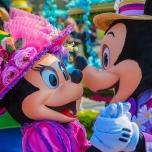 Das ist wahre Liebe: Micky Maus und Minni Maus bei Goofy's Garden Party