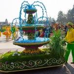 Schmuckwagen bei Goofy's Garden Party