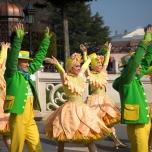 Tanzeinlage bei Goofy's Garden Party