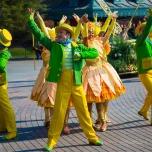 Choreographie der Goofy's Garden Party