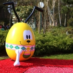 Swing into Spring Ostereier Pluto
