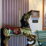 Original Pferd von King Arthurs Karussell