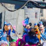 Geburtstagsshow im Disneyland Paris