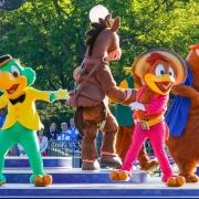 Die drei Caballeros im Disneyland Paris