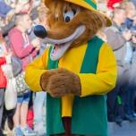 Brer Fox bei der Geburtstagsshow