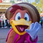 Panchito im Disneyland Paris