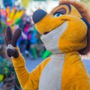 Timon bei der Show zum 25. Geburtstag des Disneyland Paris