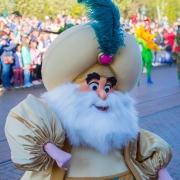Der Sultan aus Disney's Film Aladdin
