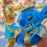 Stitch beim 25. Geburtstag des Disneyland Paris