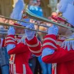 Marching Band auf der Main Street