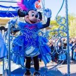 Minnie Mouse bei der Geburtstagsparty des Disneyland Paris