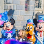 Minnie Mouse, Pluto und Mickey