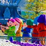 Die Sieben Zwerge im Disneyland Paris