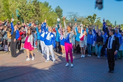 Flashmob zum 25. Geburtstag