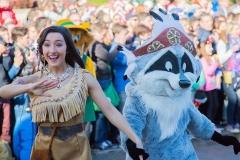 Pocahontas und Meeko