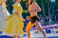 Tarzan und Jane bei der Geburtstagsshow