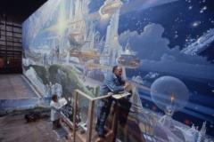 Robert McCall bei der Arbeit