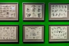 Skizzen für Disney Filme