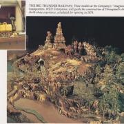 Big Thunder Mountain Modell