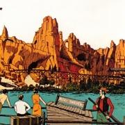 Konzeptzeichung von Thunder Mesa aus dem Jahr 1969