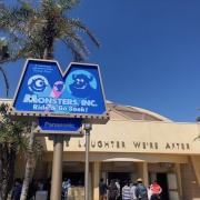Monsters Inc. Eingang zur Attraktion