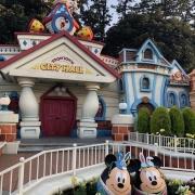 Toontown City Hall mit Mickey & Minnie Ostereier