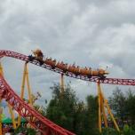 Slinky Dog Achterbahn