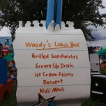 Speisekarte Woodys Lunchbox