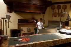 Pizzaofen in der Trattoria Al Forno