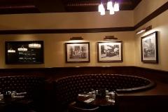 Sitzecke im Restaurant Trattoria Al Forno