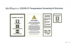 Temperaturkontrollen an den Eingängen von Walt Disney World