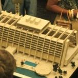 Disney's contemporary Resort Model