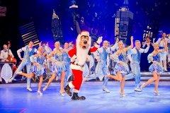 Goofy als Weihnachtsmann