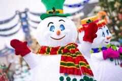 Weihnachtsparade in Disneyland Paris