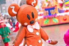 Lebkuchenmann in der Disney Parade