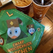 Camp Woodchuck Menü