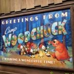 Das Camp Woodchuck Restaurant ist immer einen Besuch wert!