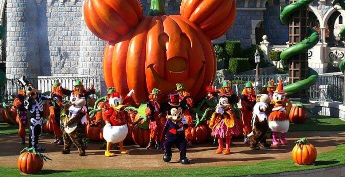Bild der Halloween Show auf der Castle Stage 2012