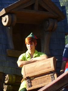 Triff Peter Pan im Disneyland Paris