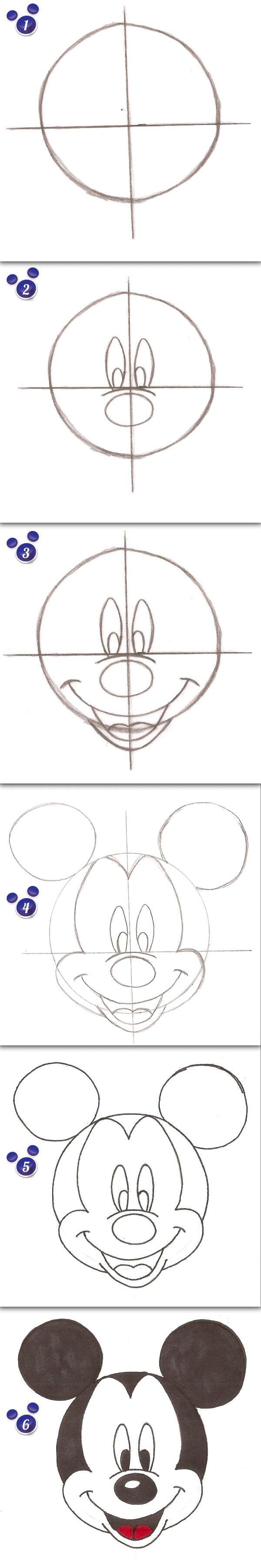 mickey maus zeichnen art of animation der dein. Black Bedroom Furniture Sets. Home Design Ideas