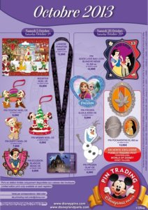 Disneyland Paris Pin Trading Pins Oktober 2013