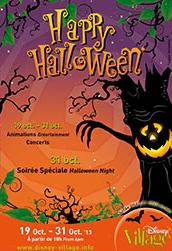 Halloween 2013 im Disney Village