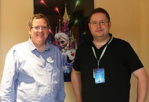 Ben Spalding, Production Manager für Disney Dreams of Christmas
