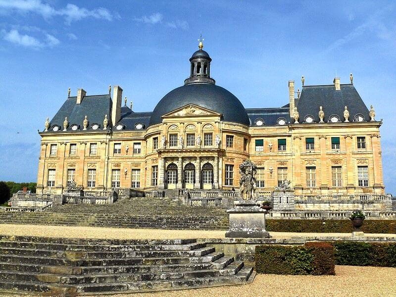 Schloß Vaux-le-Vicomte gehört zu den interessantesten Ausflugszielen