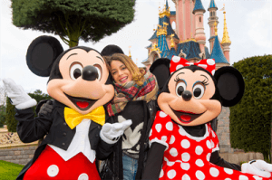 Martina Stössel aus Violetta im Disneyland Paris