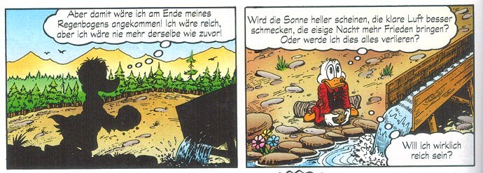 Dagobert Duck / Scrooge McDuck am White Agony Creek: Will ich reich sein?
