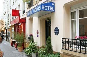 Hotel Delos Vaugirard, unweit des Endes unserer Route © Hoteldelosparis.fr