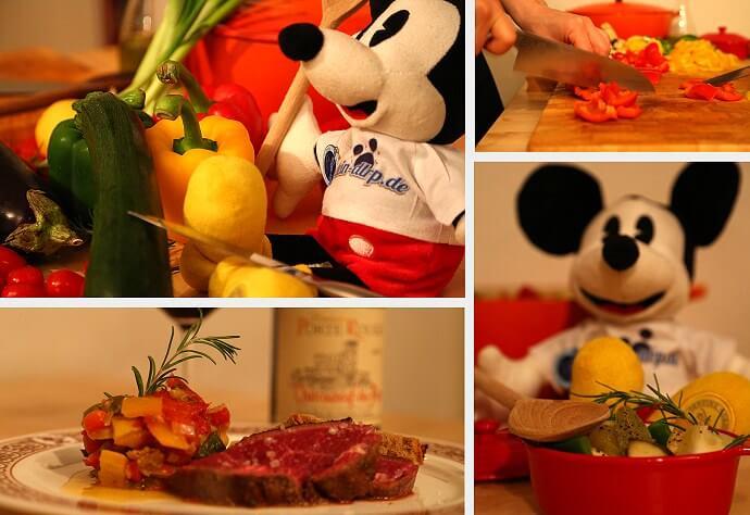 Mickeys allerbestes Ratatouille Rezept