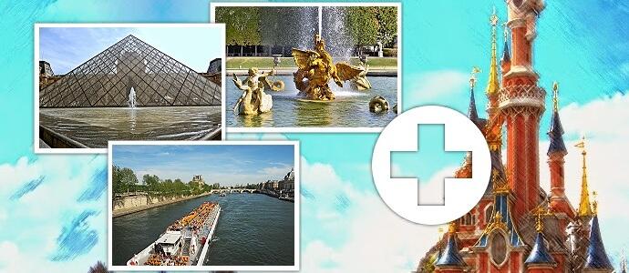 Kombi Tickets für das Disneyland und Sehenswürdigkeiten in Paris